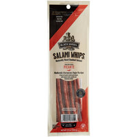 Piller's Black Kassel 3.5 oz. Picante Salami Whips - 16/Case