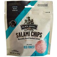 Piller's Black Kassel 3 oz. Old Forest Salami Chips - 16/Case