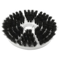MotorScrubber MS1038 7 1/2 inch Black Delicate Cleaning Brush
