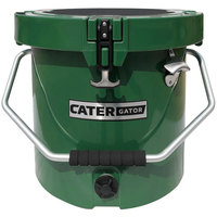 CaterGator CCG20HG Green 20 Qt. Round Rotomolded Extreme Outdoor Cooler / Ice Chest