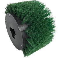 MotorScrubber MS1049T 7 1/2 inch Green Giant Tynex Stair and Baseboard Brush