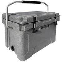 CaterGator CG20SPG Gray 20 Qt. Rotomolded Extreme Outdoor Cooler / Ice Chest