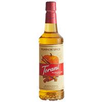 Torani 750 mL Puremade Pumpkin Spice Flavoring Syrup