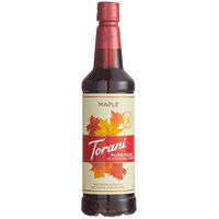Torani 750 mL Puremade Maple Flavoring Syrup