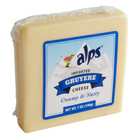 Alps 7 oz. Natural Austrian Mountain Gruyere Cheese Block