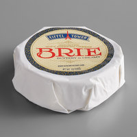 Eiffel Tower 7 oz. Imported Soft Ripened Brie Cheese Mini Wheel   - 12/Case
