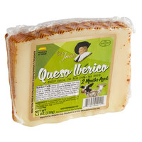 Don Juan 5.3 oz. Aged Iberico 33-3 Mixed Milk Cheese Wedge   - 12/Case