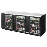 Beverage-Air BB94HC-1-G-B-WINE 95 inch Black Glass Door Back Bar Wine Series Refrigerator