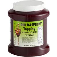 I. Rice 1/2 Gallon Red Raspberry Ice Cream Sundae Topping