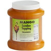 I. Rice 1/2 Gallon Mango Sunrise Ice Cream Sundae Topping - 6/Case