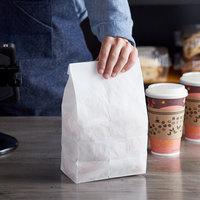 Bagcraft Packaging 300296 6 lb. Dubl-Wax® White Bag - 1000/Case