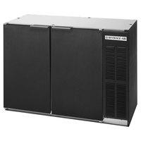 Beverage-Air BB48HC-1-B-WINE 48 inch Black Solid Door Back Bar Wine Series Refrigerator