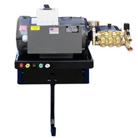 Cam Spray 4040EWM3 Wall Mount Electric Cold Water Pressure Washer with 50' Hose - 4000 PSI; 4.0 GPM; 3 Phase