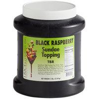 I. Rice 1/2 Gallon Black Raspberry Ice Cream Sundae Topping - 6/Case