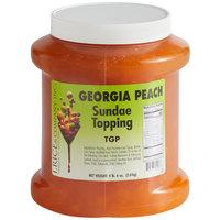 I. Rice 1/2 Gallon Georgia Peach Ice Cream Sundae Topping - 6/Case
