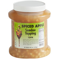 I. Rice 1/2 Gallon Spiced Apple Ice Cream Sundae Topping - 6/Case