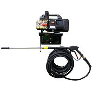 Cam Spray 1500AEWM Wall Mount Electric Cold Water Pressure Washer with 50' Hose - 1450 PSI; 2.0 GPM