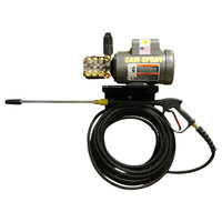 Cam Spray 1500EWM2 Wall Mount Electric Cold Water Pressure Washer with 50' Hose - 1500 PSI; 2.0 GPM