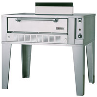 Garland G2071 Natural Gas 55 1/4 inch Single Deck Pizza Oven - 40,000 BTU