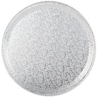 Durable Packaging 12FT 12 inch Round Foil Catering Tray - 5/Pack