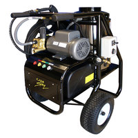 Cam Spray 1000SHDE Portable Diesel Fired Electric Hot Water Pressure Washer - 1000 PSI; 3.0 GPM