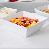 American Metalcraft MELSQ117 Endurance 228 oz. Square Melamine Serving Bowl