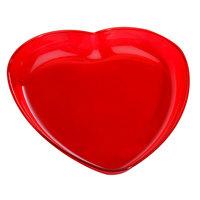 Fineline HT740.RD Platter Pleasers Heart Platter   - 48/Case
