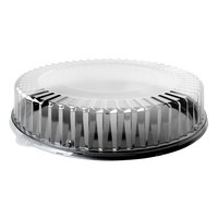 Fineline DD13.L Platter Pleasers 13 inch Clear Round Dome Lid - 50/Case
