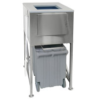 Scotsman ICS-3-SL Ice Express 3 Bay Ice Storage Bin with Extension - 2900 lb.