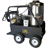 Cam Spray 3050QE Portable Electric Hot Water Pressure Washer with 50' Hose - 3000 PSI; 5.0 GPM