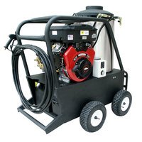 Cam Spray 4040QB Portable Gas Hot Water Pressure Washer with 50' Hose - 4000 PSI; 4.0 GPM
