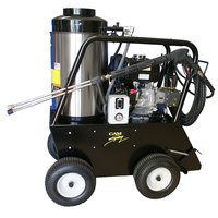 Cam Spray 3030QH Portable Gas Hot Water Pressure Washer with 50' Hose - 3000 PSI; 3.0 GPM