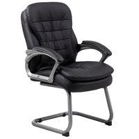 Boss B9339 Black Executive Pillow Top Guest Chair