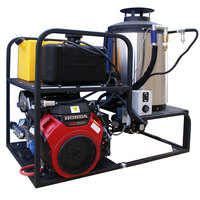 Cam Spray MCB5055H Skid Mount Gas Hot Water Pressure Washer with 50' Hose - 5000 PSI; 5.5 GPM