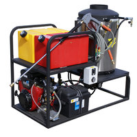 Cam Spray MCB4040V Skid Mount Gas Hot Water Pressure Washer with 50' Hose - 4000 PSI; 4.0 GPM
