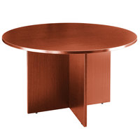 Boss N127-C Cherry Laminate 42 inch Round Office Table
