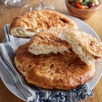 Father Sam's Bakery 8 inch White Pita Pocket Bread - 24/Case