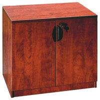 Boss N113-C Cherry Laminate Storage Cabinet - 31 inch x 22 inch x 29 1/2 inch