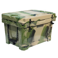 CaterGator CG45CAMO Camouflage 45 Qt. Rotomolded Extreme Outdoor Cooler / Ice Chest