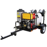 Cam Spray UV2030B-HOT Trailer Mounted Gas Hot Water Pressure Washer with 100' Hose - 2000 PSI; 3.0 GPM