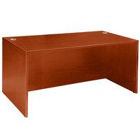 Boss N103-C Cherry Laminate Desk Shell - 60 inch x 30 inch x 29 inch
