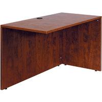 Boss N196-C Cherry Laminate Reversible Return Desk - 42 inch x 24 inch x 29 1/2 inch