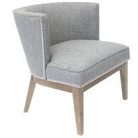 Boss B529DWS-MG Medium Grey Ava Accent Chair