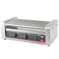 Vollrath 40821 18 Hot Dog Roller Grill with 7 Rollers - 120V, 560W
