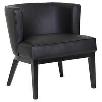 Boss B529BK-BK Black Ava Accent Chair