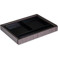 Boss N185-DW Driftwood 24 inch x 18 inch Laminate Center Drawer for Reception Desks
