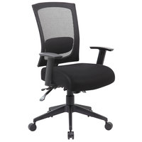 Boss B6716-BK Black Mesh 3-Paddle Task Chair