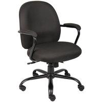 Boss B670-BK Black Heavy Duty Task Chair