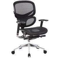 Boss B6888-BK Black Mesh Multi-Function Chair