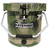 CaterGator RCCG20CAM Camouflage 20 Qt. Round Rotomolded Extreme Outdoor Cooler / Ice Chest